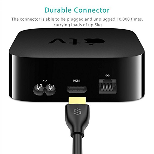 Do You Have To Buy A Hdmi Cable For Apple Tv: HDMI Cable Syncwire 6.5ft HDMI Cord - Ultra High Speed 18Gbps HDMI 2.0rh:cheapcablesonline.com,Design